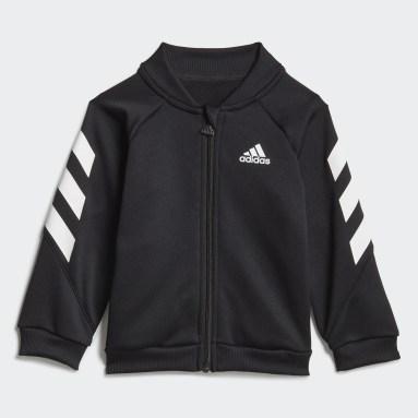 Kids Gym & Training Black Mini Me XFG Track Suit