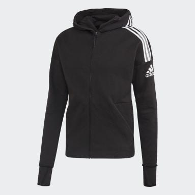 Men Sportswear Black adidas Z.N.E. 3-Stripes Hoodie