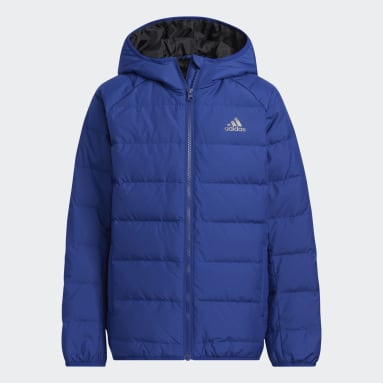 Kids Gym & Training Blue Frosty Winter Jacket