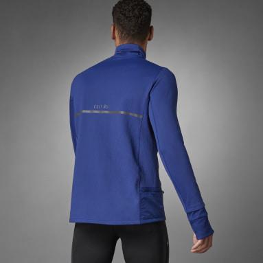 Männer Running adidas COLD.RDY Running Oberteil Blau