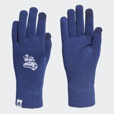 Fotboll Blå Real Madrid Gloves