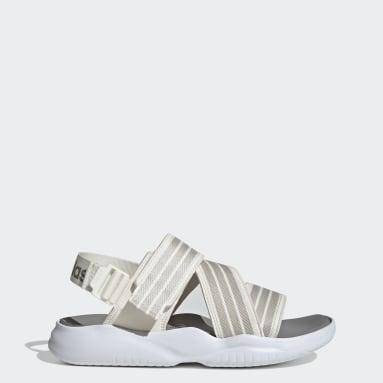 Women's Yoga White 90s Sandals