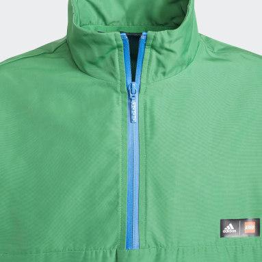 зеленый Ветровка-анорак adidas x Classic LEGO® WIND.RDY