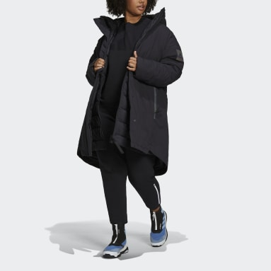 Women City Outdoor Black MYSHELTER COLD.RDY Parka (Plus size)