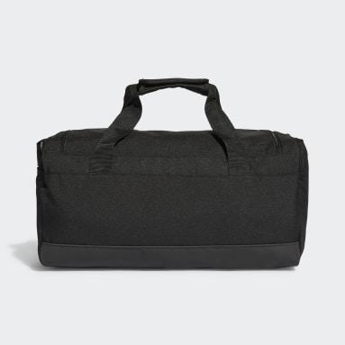 Lifestyle Black Essentials Logo Duffel Bag Extra Small