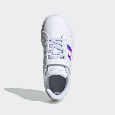 Children 4-8 Years Essentials White Grand Court Shoes