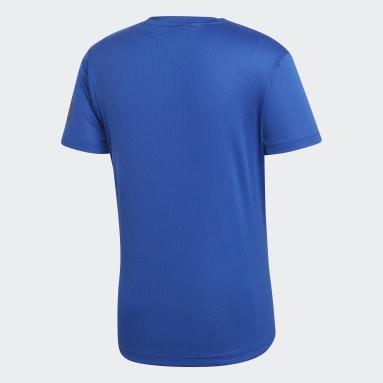 Playera Freelift Climachill Azul Hombre Training