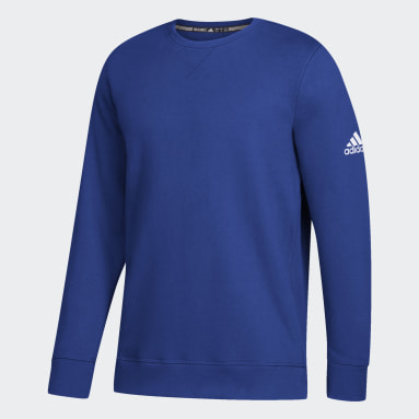 Men's Sportswear Blue Fleece Sweatshirt