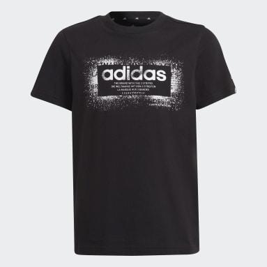 Camiseta Graphic Negro Niño Sportswear