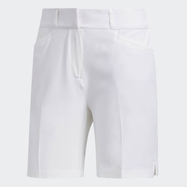 Women Golf White Ultimate Club 7-Inch Shorts