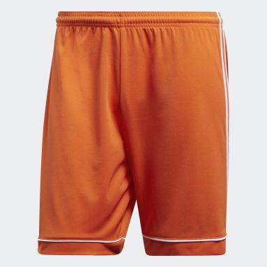 Short Squadra 17 Orange Hommes Fitness Et Training