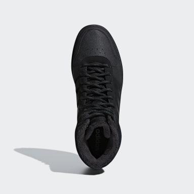 Scarpe Hoops 2.0 Mid Nero Uomo Basket