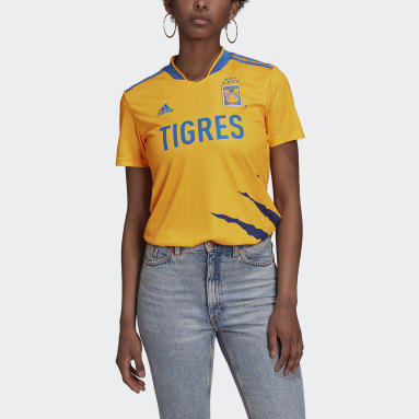 Jersey Local Tigres UANL 21/22 Amarillo Mujer Fútbol