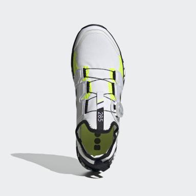 TERREX White Terrex Agravic BOA® Trail Running Shoes
