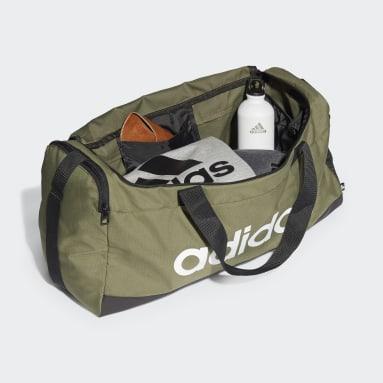 Training Green Essentials Logo Duffel Bag Medium