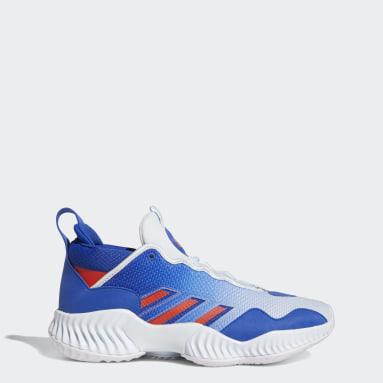 Basketbal Blauw Court Vision 3 Schoenen