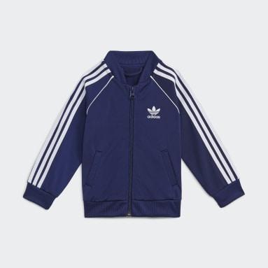 Barn Originals Blå Adicolor SST Track Suit