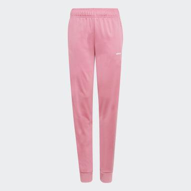 Děti Originals růžová Sportovní kalhoty Adicolor
