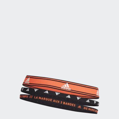 Banda de Sudor para Cabeza de Entrenamiento Paquete de 3 Naranja Training