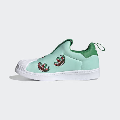 Kids Originals Turquoise Superstar 360 Shoes