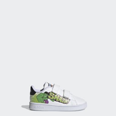 Infant & Toddler sport_inspired White Marvel Hulk Advantage Shoes