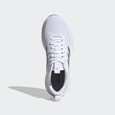 Women Running White Fluidstreet Shoes