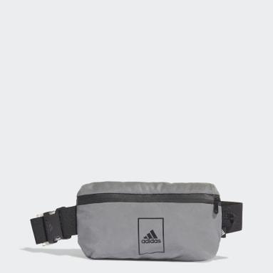 Sportswear Silver Sports Waist Bag