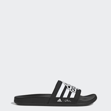 Sportswear černá Pantofle The Simpsons adilette Comfort