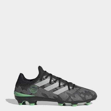 Chaussure Gamemode Knit Terrain souple Noir Football