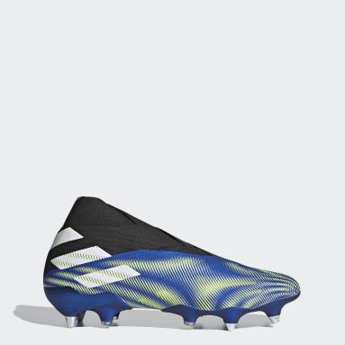 Football Blue Nemeziz 20+ Soft Ground Boots