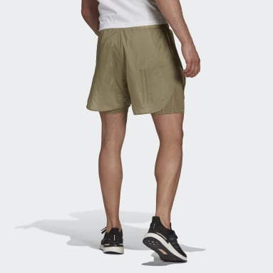 Pantalón corto Parley Mission Kit Run for the Oceans Verde Hombre Sportswear
