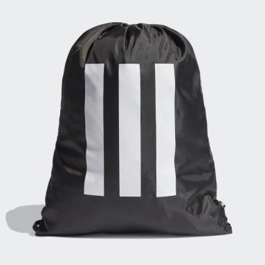 Volleybal Zwart Essentials 3-Stripes Gym Tas