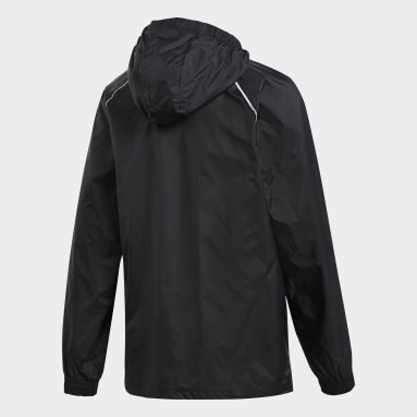 Kids Training Black Core 18 Rain Jacket