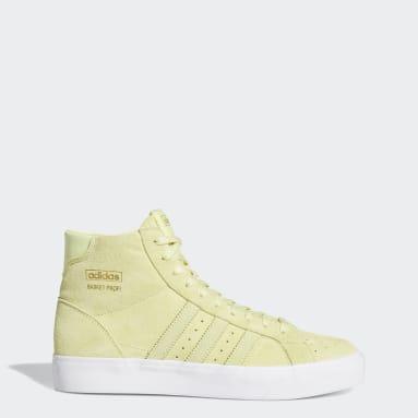 Women's Originals Yellow Basket Profi Shoes