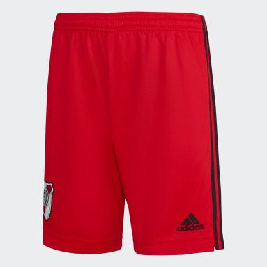 Shorts Visitante River Plate 20/21 Rojo Niño Fútbol
