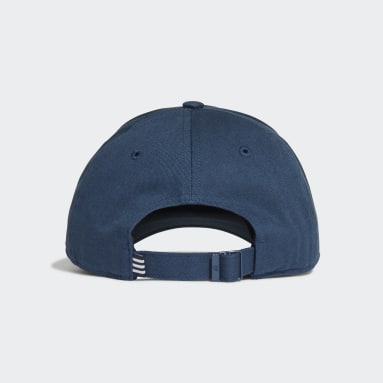 Field Hockey Blue Baseball Cap