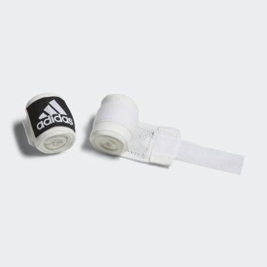 Boxen Boxing Crêpe Bandage Weiß