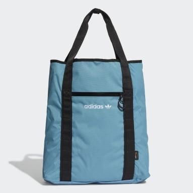 Originals Blue Adventure Cinch Tote Bag