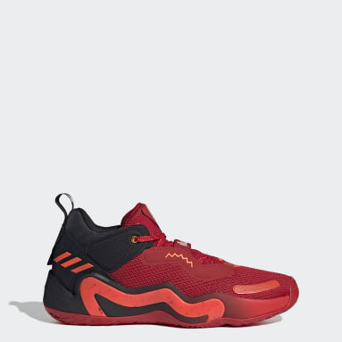 Basketball Red Donovan Mitchell D.O.N. Issue #3 Shoes - Louisville