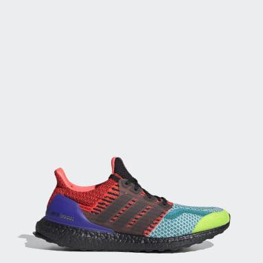 Men Running Green Ultraboost DNA Shoes