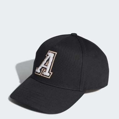Logo Baseball Caps Svart