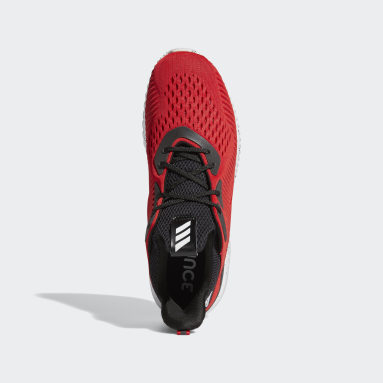 Men's Running Red Alphabounce Shoes