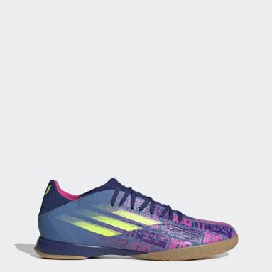 Scarpe da calcio X Speedflow Messi.3 Indoor Blu Futsal