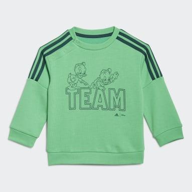 Ensemble bébés adidas x Disney Huey Dewey Louie Vert Enfants Sportswear