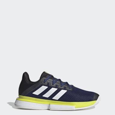 Tennis Blue SoleMatch Bounce Shoes