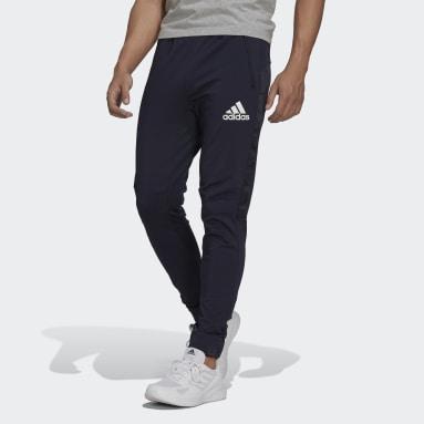 Men's Training Blue AEROREADY Designed to Move Sport Motion Logo Pants