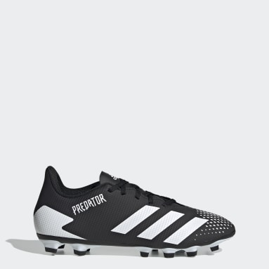 Men Football Black Predator Mutator 20.4 Flexible Ground Boots