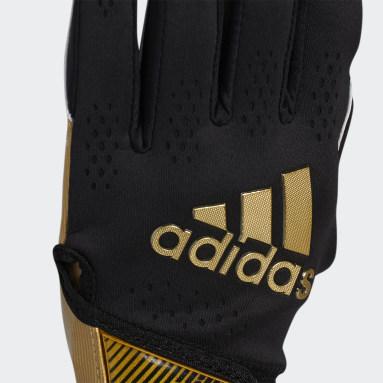 Men's Football Black Adizero 11 Gloves