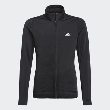 Girls Sportswear Black adidas Essentials Tracksuit