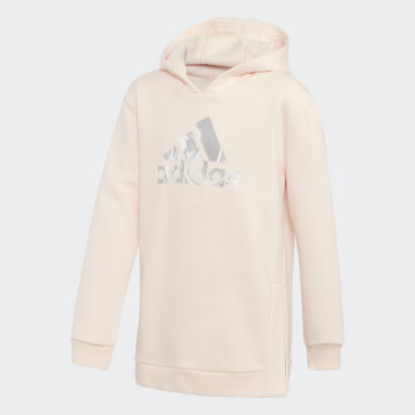 Youth Training Pink Glam On Oversize Hoodie